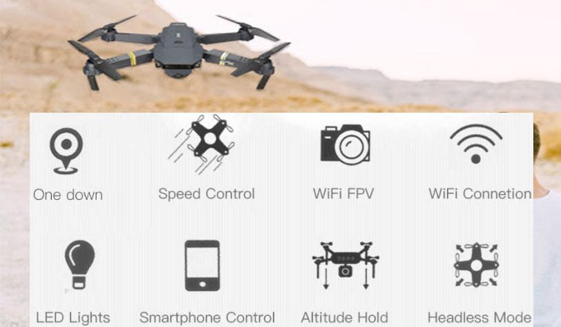 Funzioni di drone 720